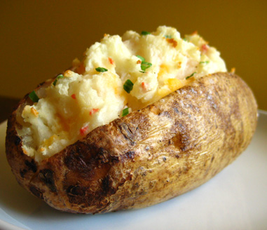 Brown Rice and Baked Potatoes