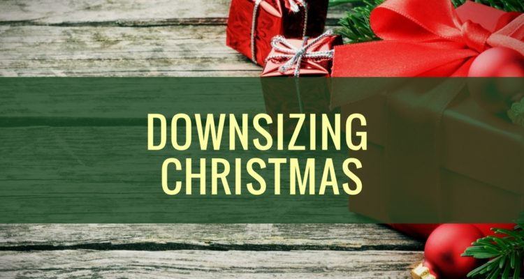 Downsizing Christmas